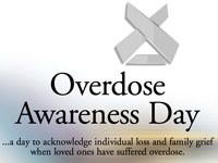 International overdose awareness day August 31st. 2016