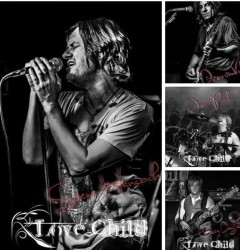 Interview with Dennis Val, guitarist from Love Child. January 2017.